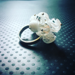 COLLECTION GRAPHIC BLANC BAGUE GM