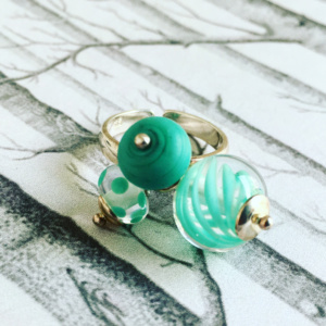 COLLECTION GRAPHIC CELADON BAGUE PM