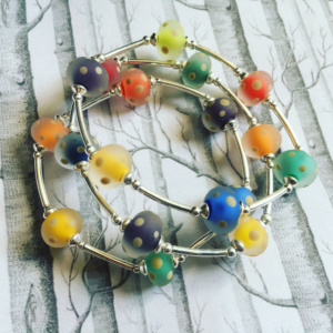 COLLECTION GRAPHIC MULTICOLORE BRACELET ARGENT (6)